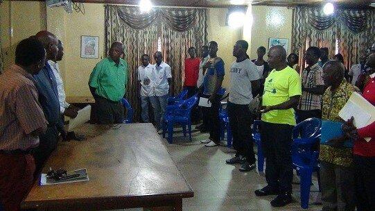 Liberia YMCA Bid Farewell to Outgoing CEO